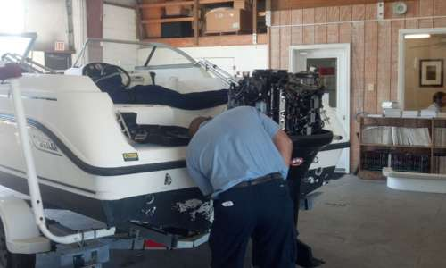 Outboard-Service