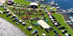 2021 Car Show at Love the Lake Marketplace